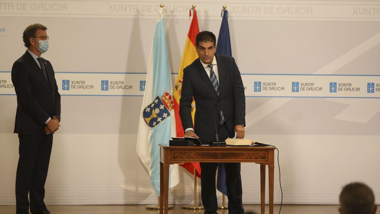 Gabriel Alén, nuevo delegado territorial de la Xunta en Ourense