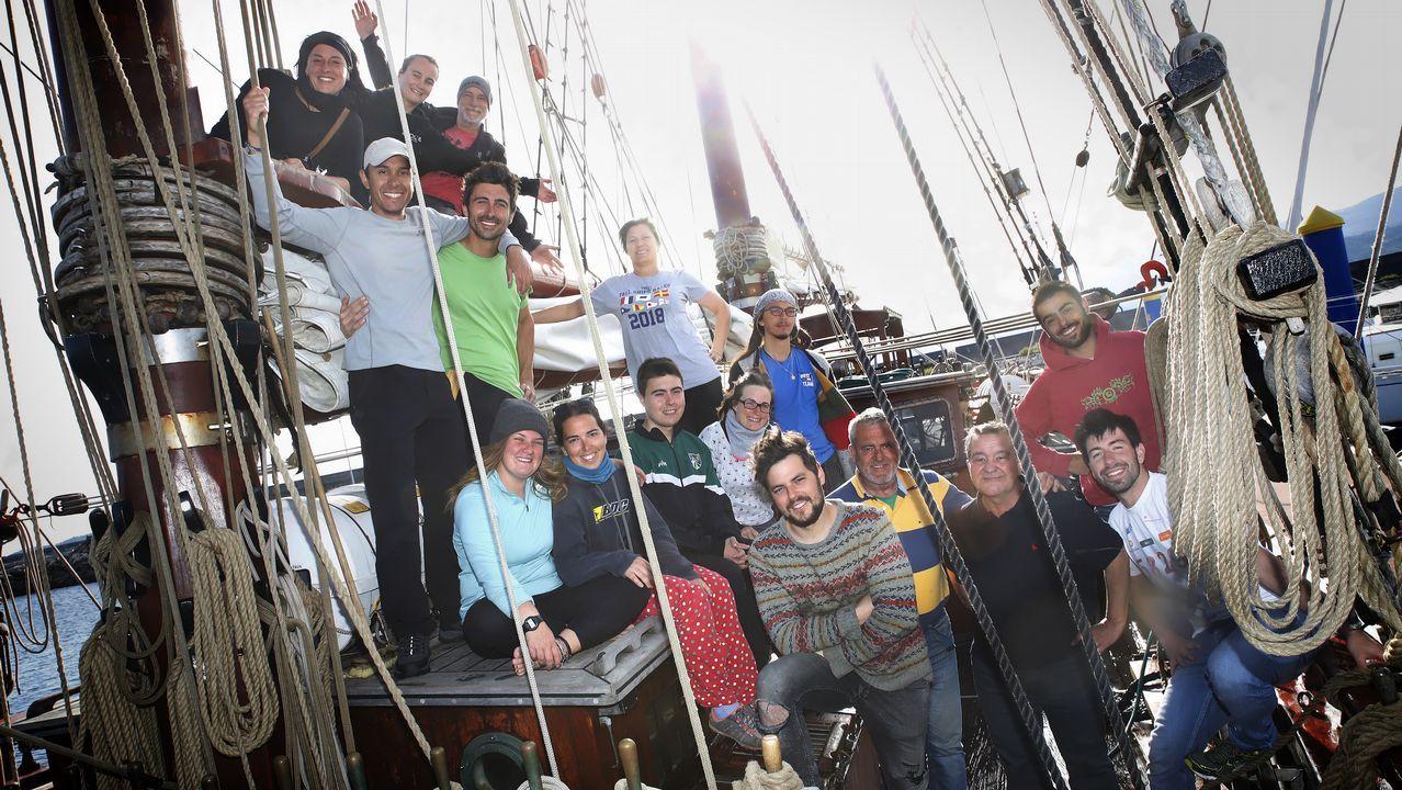 ¡Mira aquí las imágenes del barco escuela Atyla atracado en Cabo de Cruz!