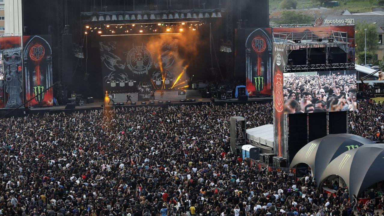Huca, Oviedo .Este año no se repetirán las imágenes de conciertos masificados en el Resurrection Fest