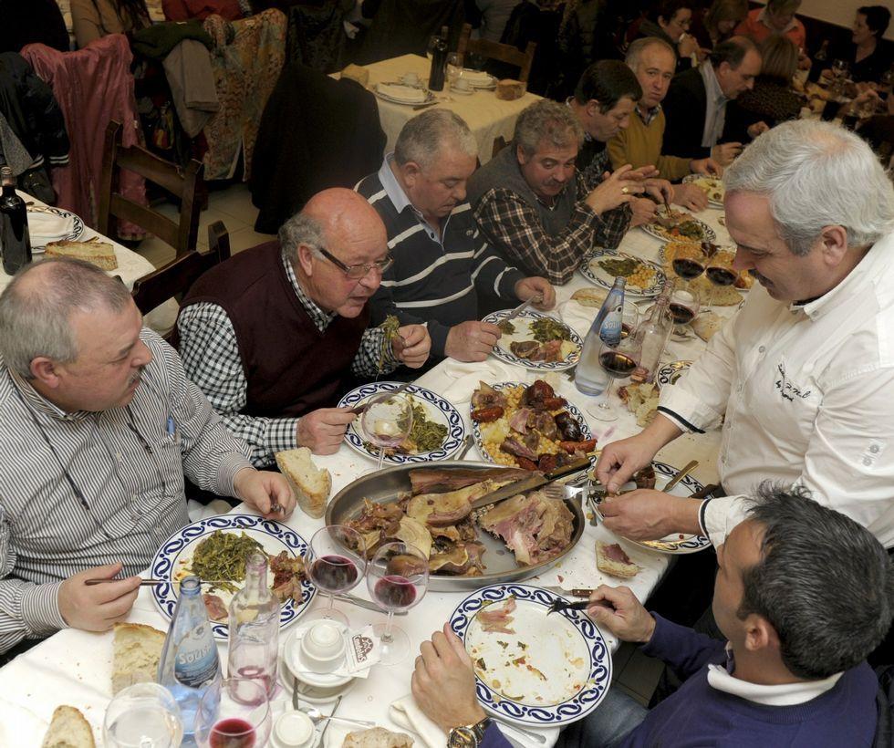 Los cocidos volverán a llenar las mesas de los restaurantes.