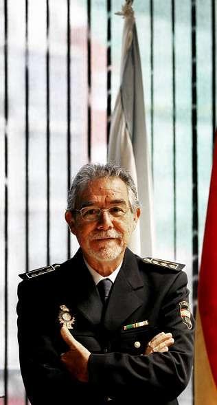 Guillermo Sánchez, en la nueva comisaría.