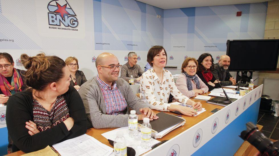 Galicia acoge manifestaciones a favor y en contra de la consulta catalana