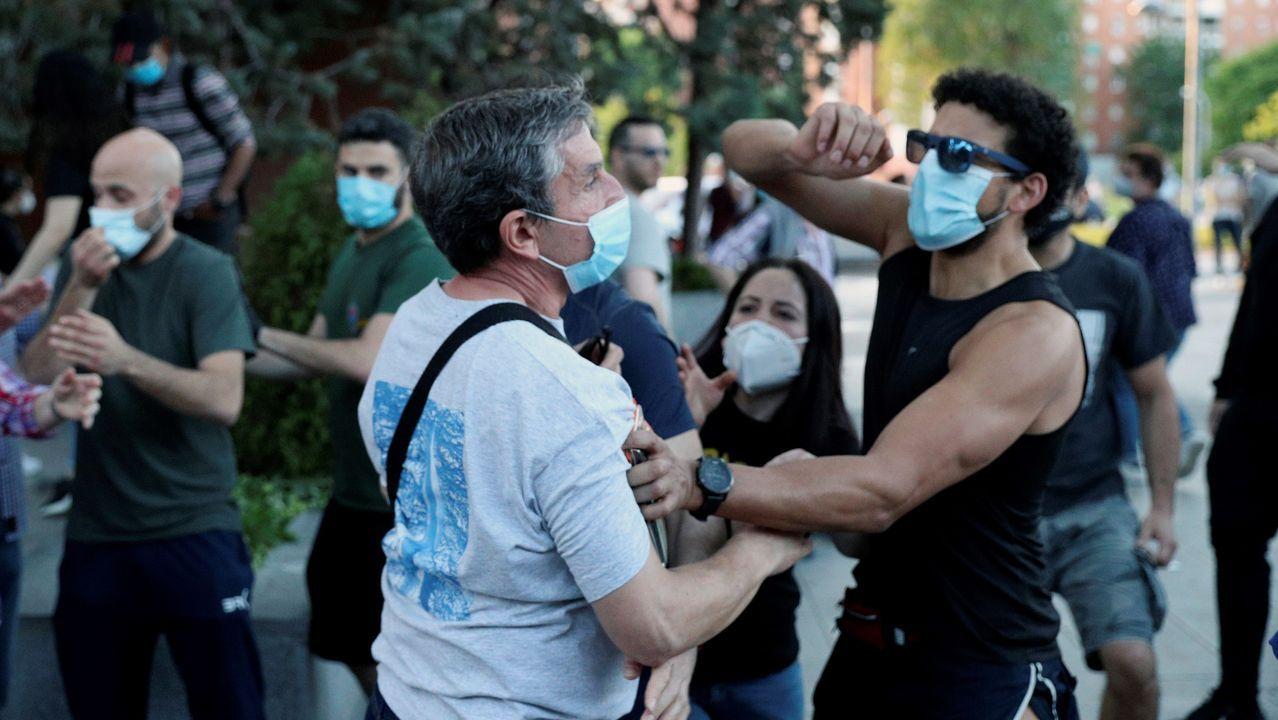 Enfrentamientos entre personas de diferentes ideologías