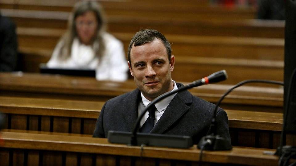 Pistorius durante una nueva jornada del juicio