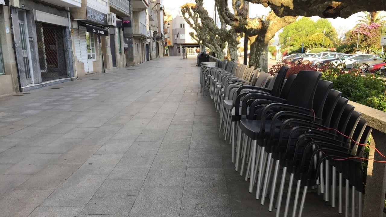 Reapertura de los bares en Vigo