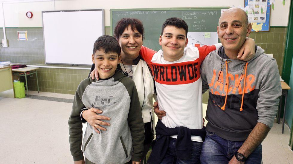 Va al colegio y agradece a los 32 compañeros el apoyo a su hijo autista