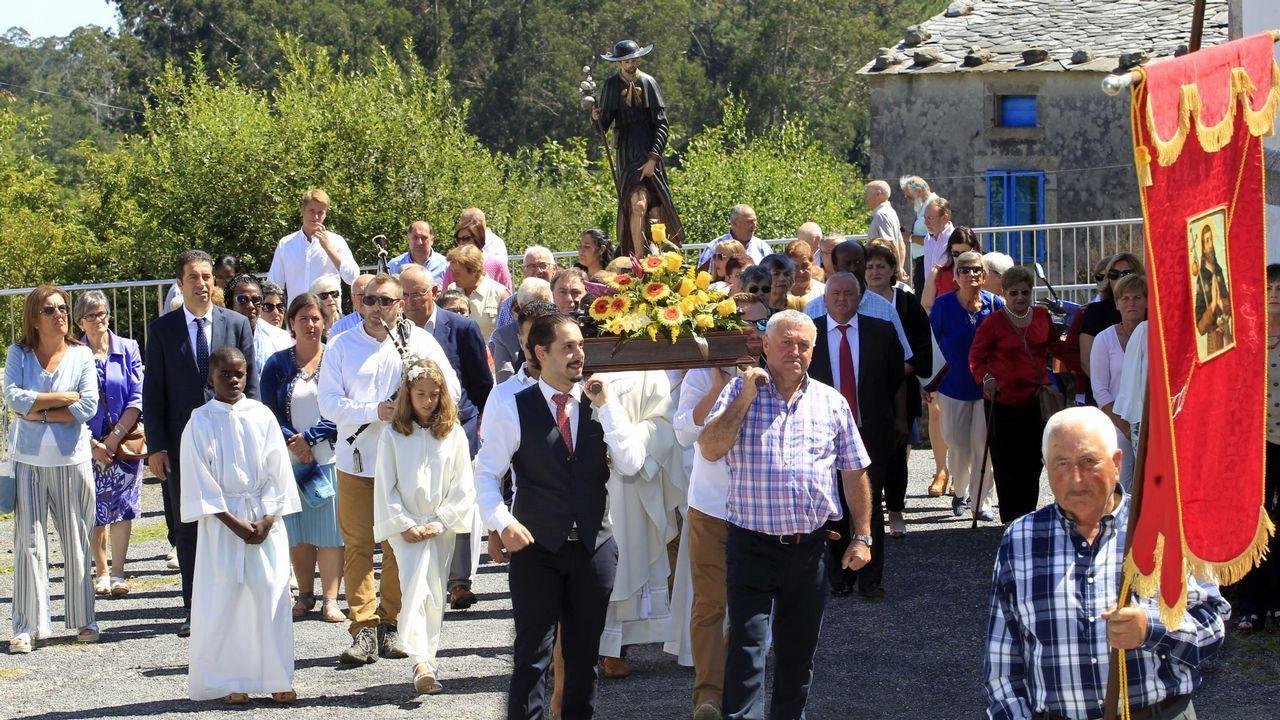 Así pasada La Vuelta por San Cibrao.Ria del Eo