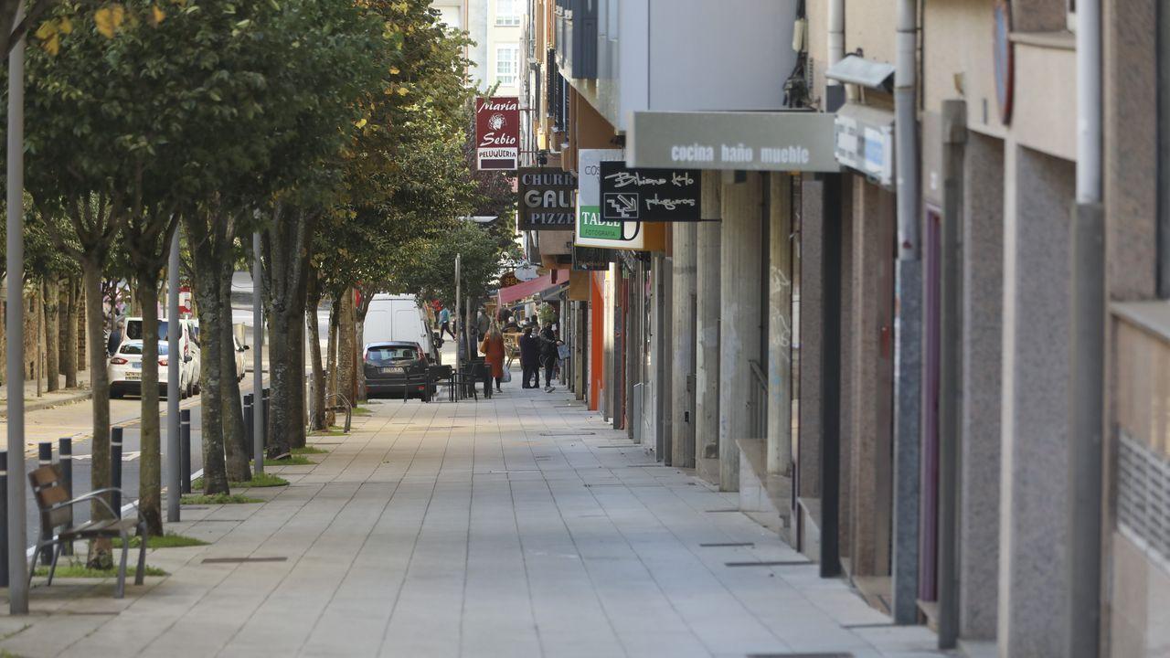La primera jornada de cierre perimetral de Santiago dejó vacías las calles del centro de la ciudad