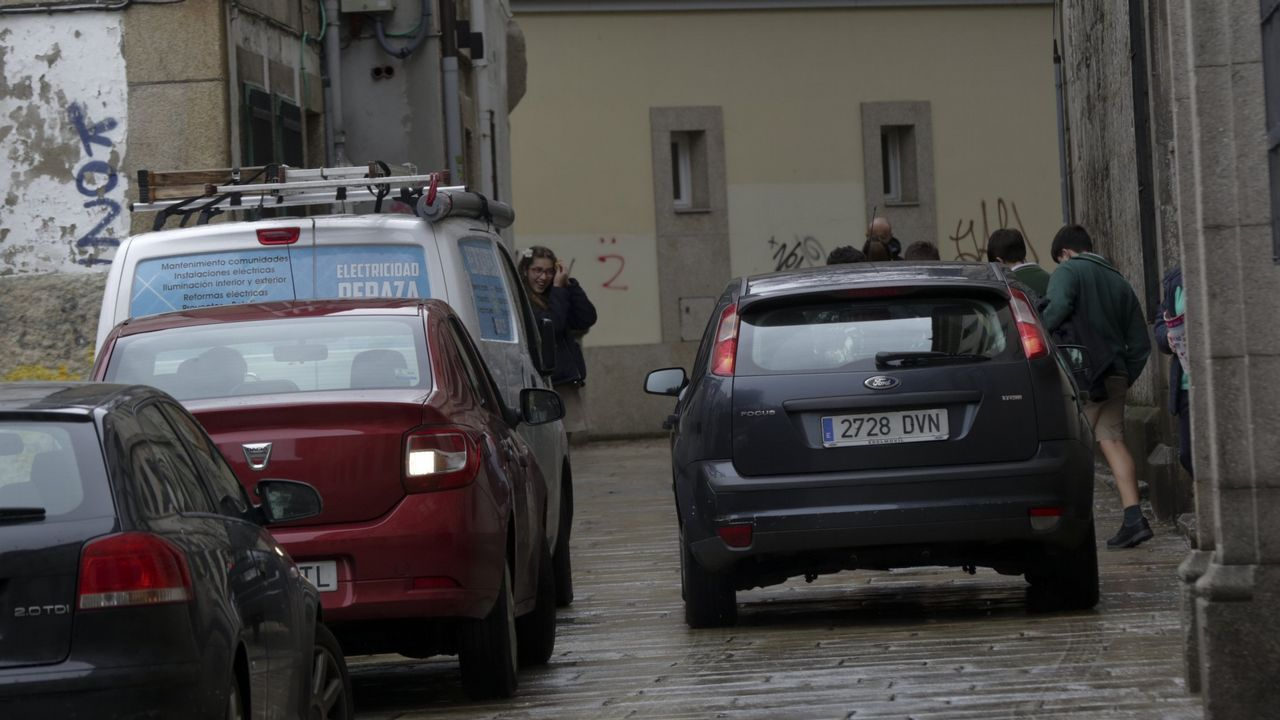 Peatones Ciudad Vieja