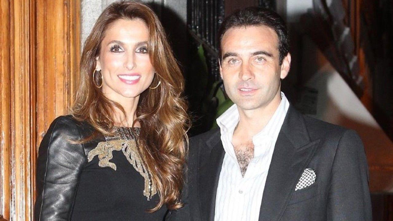 Paloma Cuevas y Enrique Ponce, en una imagen de arhivo