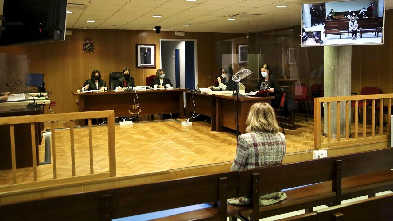 Celebración de un juicio en Vigo el pasado mes de diciembre