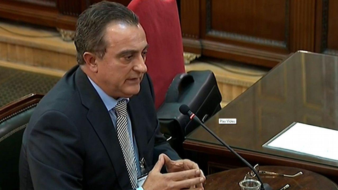 El exjefe de la Comisaría General de Información de los Mossos d'Esquadra, Manuel Castellví