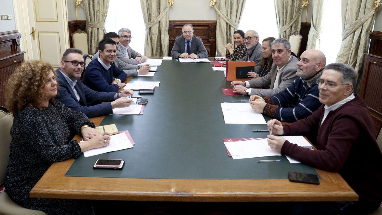 adrian.José Manuel Baltar, presidente de la Diputación ourensana