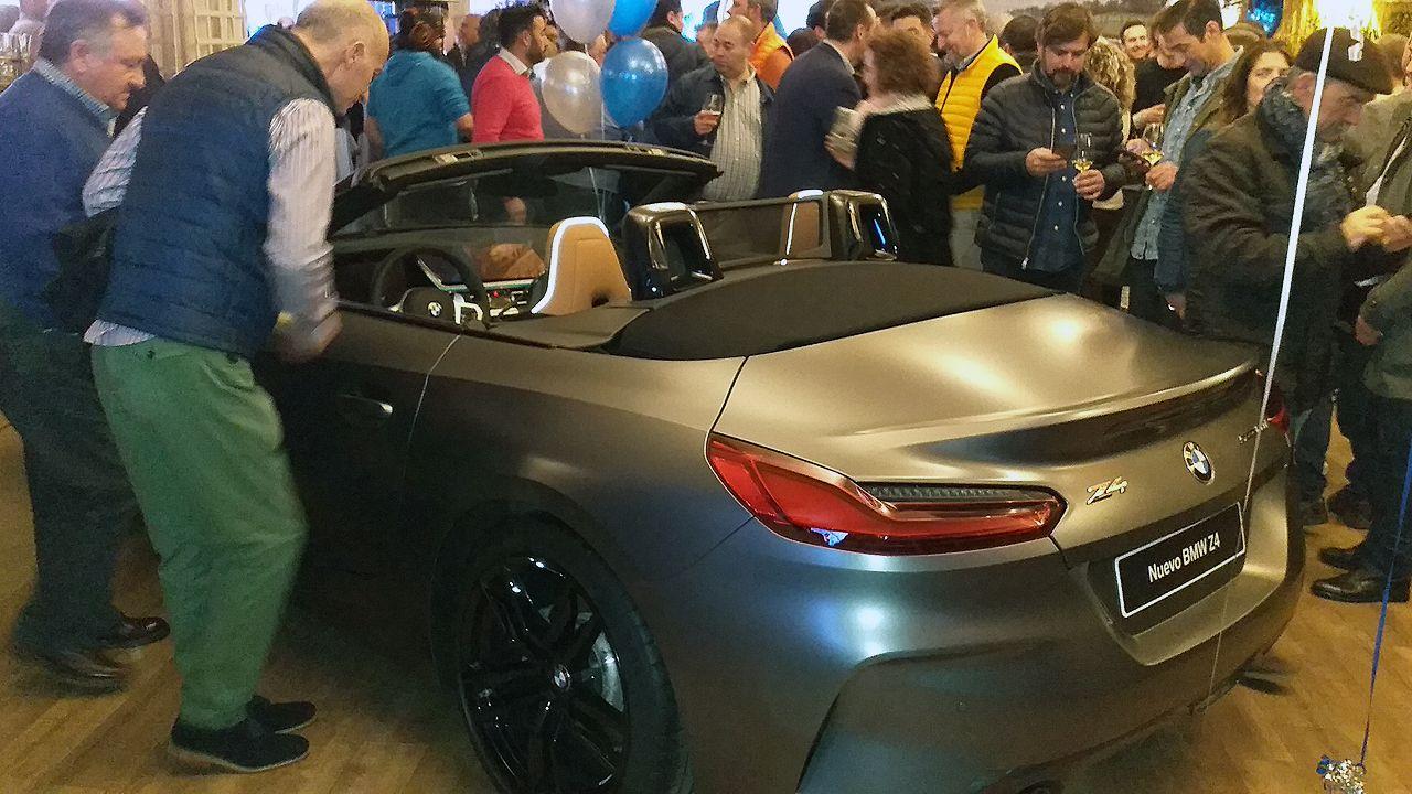 El BMW Z4 acaparó la atención del público más juvenil