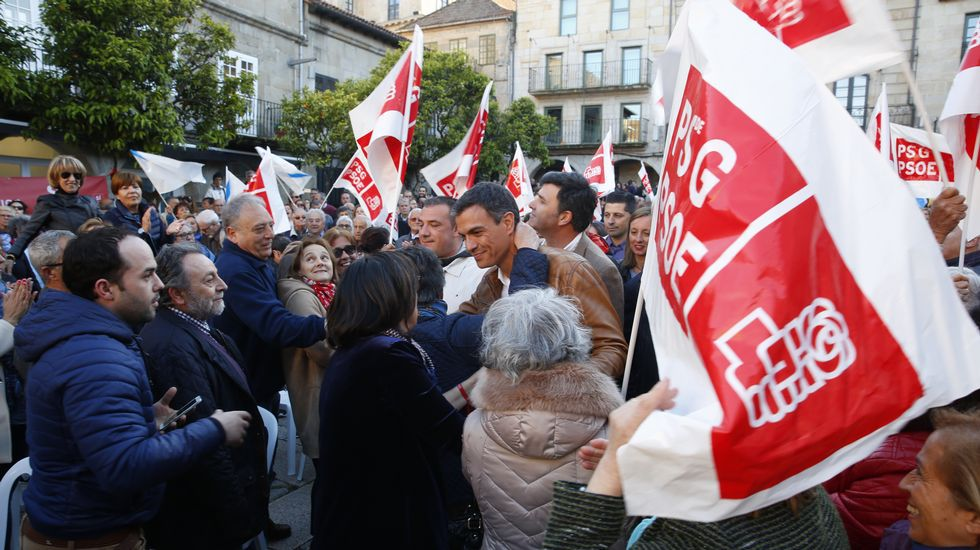 Patxi López visita Ourense