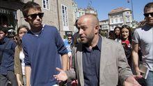 Íñigo Errejón y Villares, durante una visita a Pontevedra en el 2016