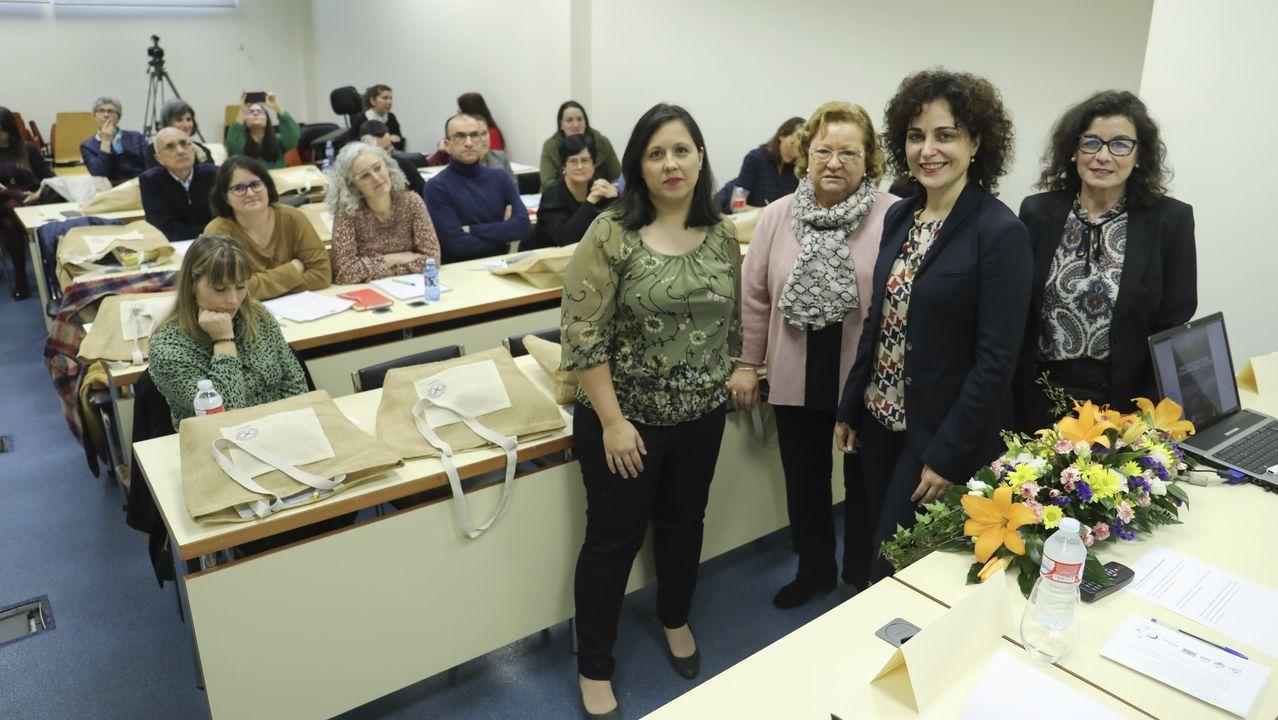 Arzúa y Touro dan la bienvenida al carnaval y Vedra celebra su entroido municipal.Vista de los juzgados de Santiago, en imagen de archivo