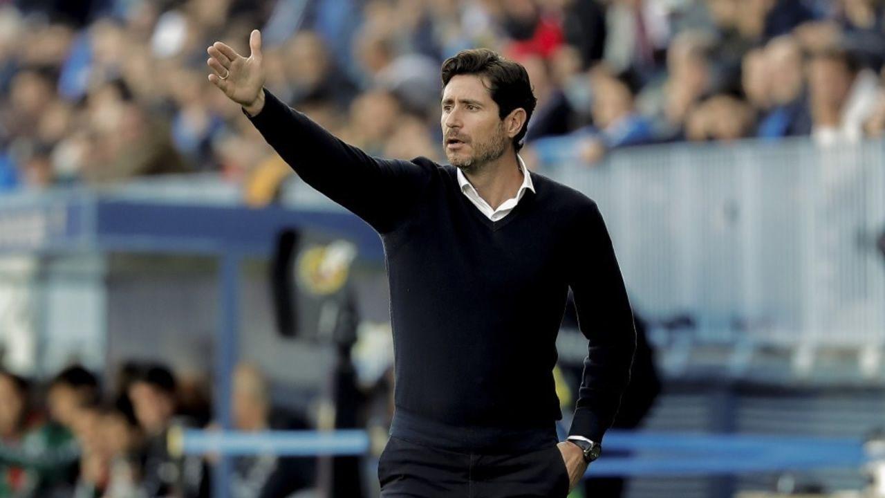 Víctor califica de «injusto» e «indigno» su despido del Málaga.Luis Miguel Ramis