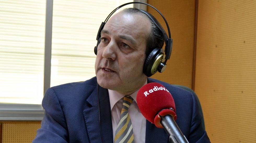 Franco Quintáns, Manuel Valeriano Alonso y Sandra Insua en la presentación
