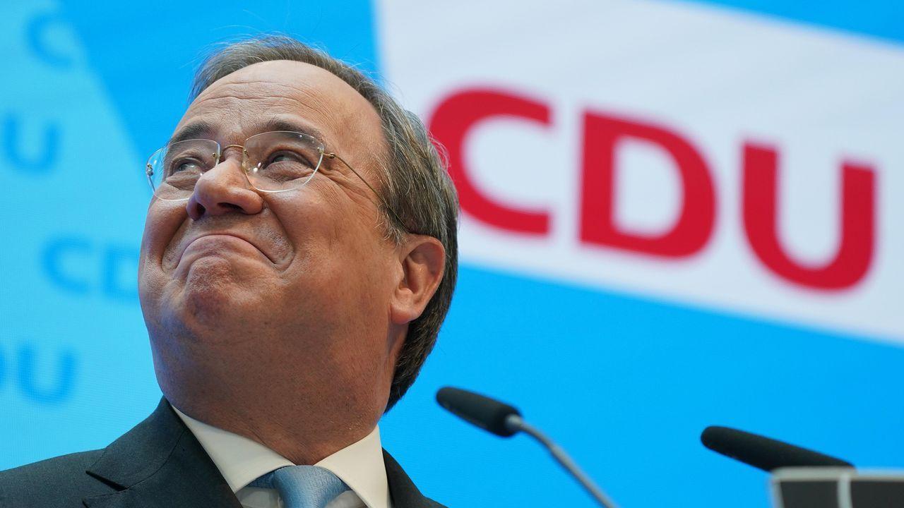 Armin Laschet, tras convertirse en candidato conservador a las elecciones de septiembre