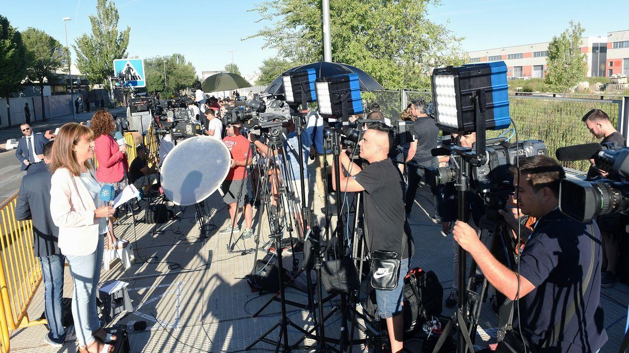Gran expectación mediática ante la Audiencia Nacional