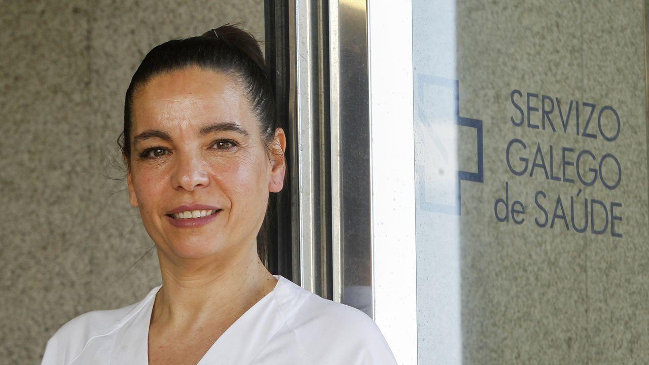 Ana Formoso Piñeiro, enfermera de la planta covid:  Me quedan imágenes y situaciones que no olvidaré nunca .