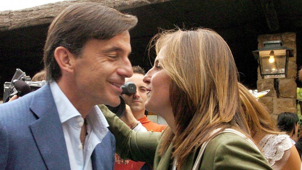 Se cumplen 25 años de Barcelona'92.Émilio y Arantxa Sánchez Vicario en una imagen de archivo