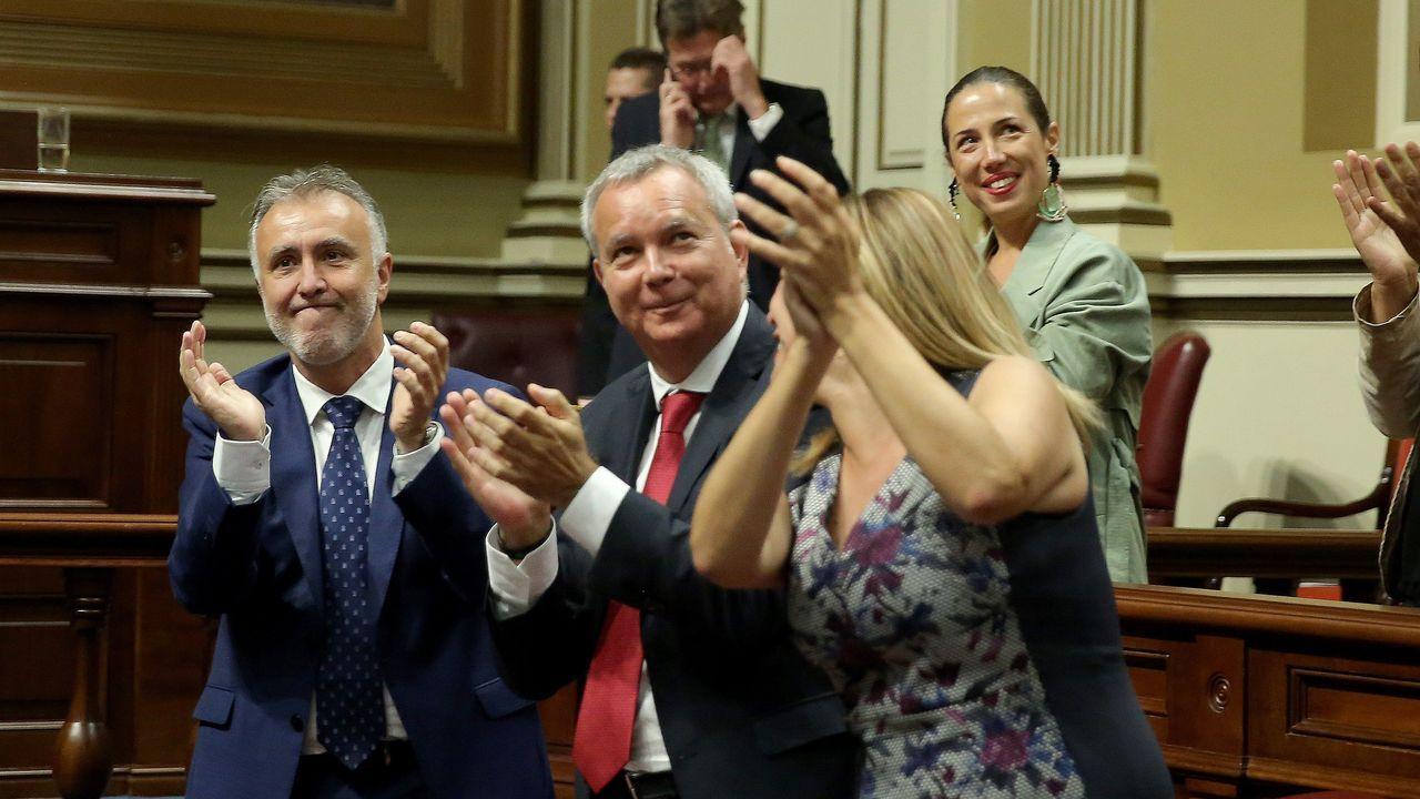 Ángel Víctor Torres es desde este viernes presidente de Canarias