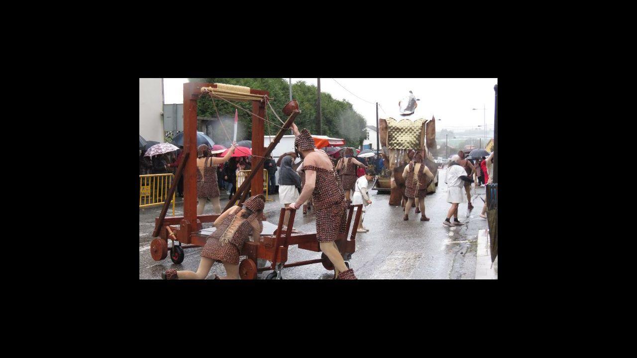 Así despidieron el carnaval los boirenses