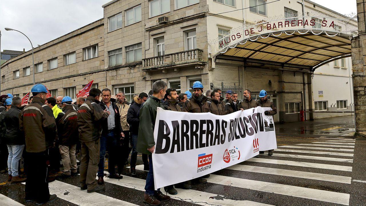 Los trabajadores de Barreras llevan de nuevo su batalla a la calle