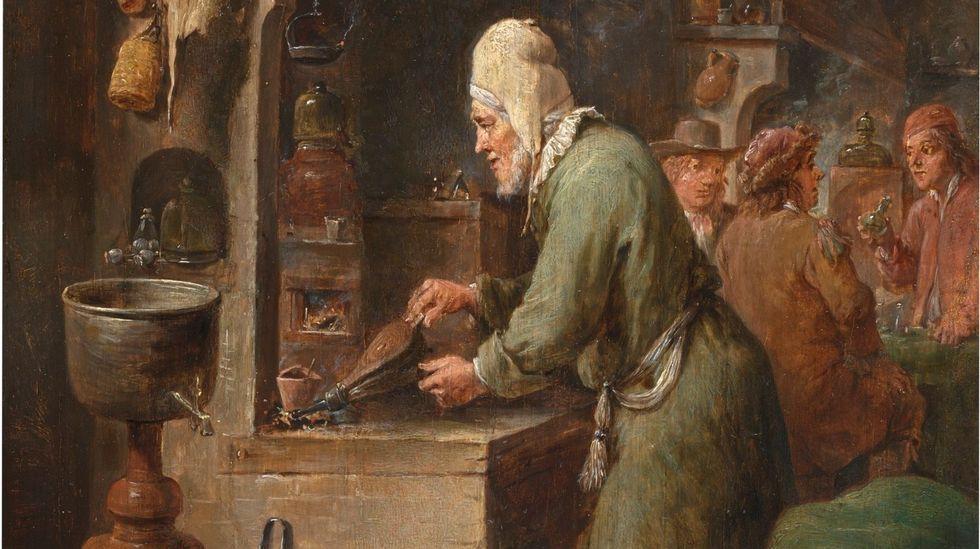 «El alquimista», de David Teniers el Joven (1610-1690). Museo del Prado