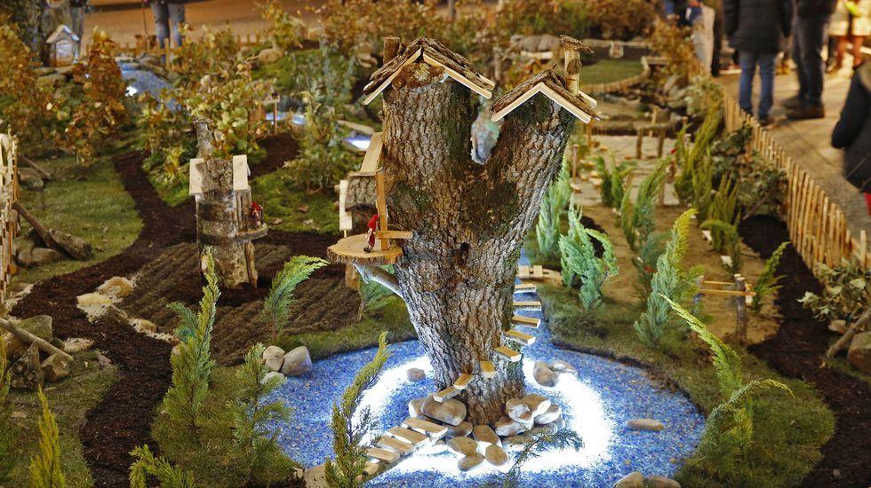 NAVIDAD EN CELANOVA.En Allariz han instalado un gran poblado navideño
