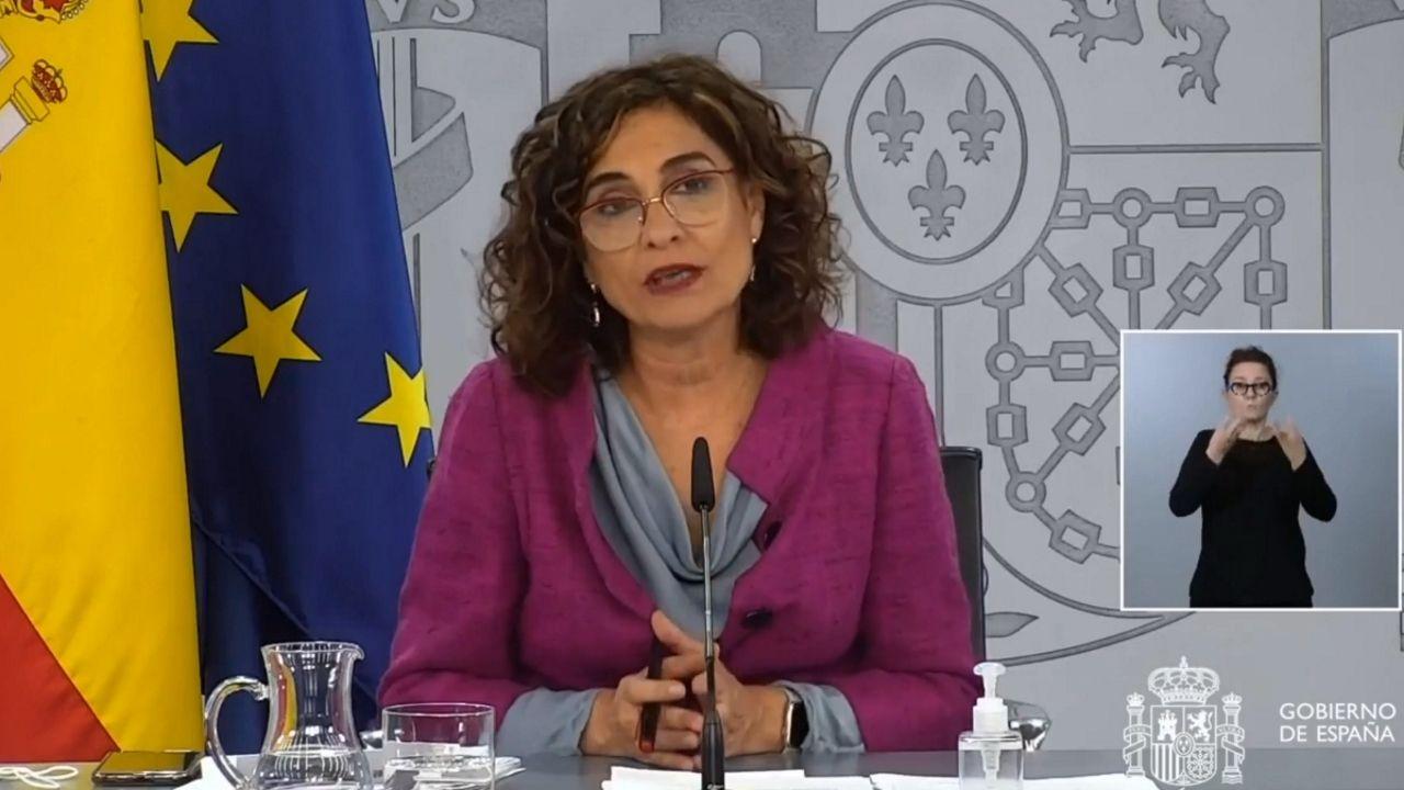 En Directo: María Jesús Montero comparece tras el Consejo de Ministros