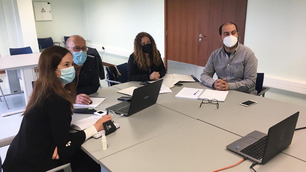 Asturias ha iniciado la vacunación con Janssen, en Gijón