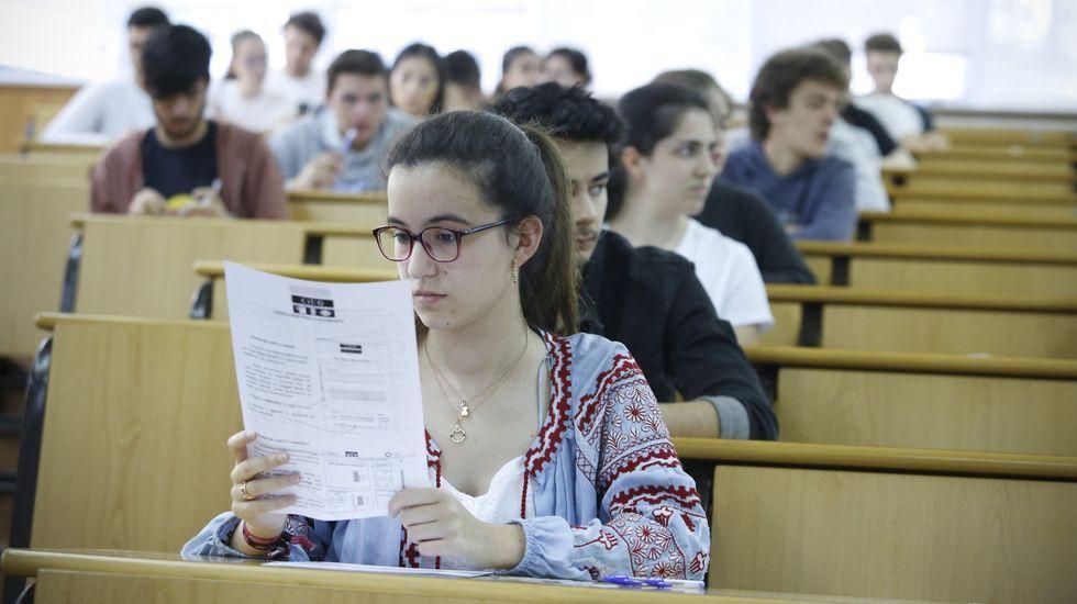 El pasado julio se presentaron a la selectividad 2.085 estudiantes en Galicia