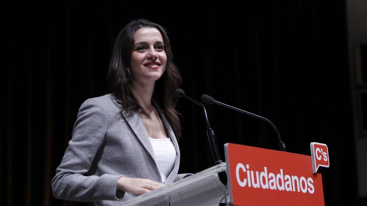 El vídeo de Daniel Ripa sobre la presencia en Asturias de los líderes de la derecha en campaña.Alberto López-Asenjo, en la sede del PP gijonés