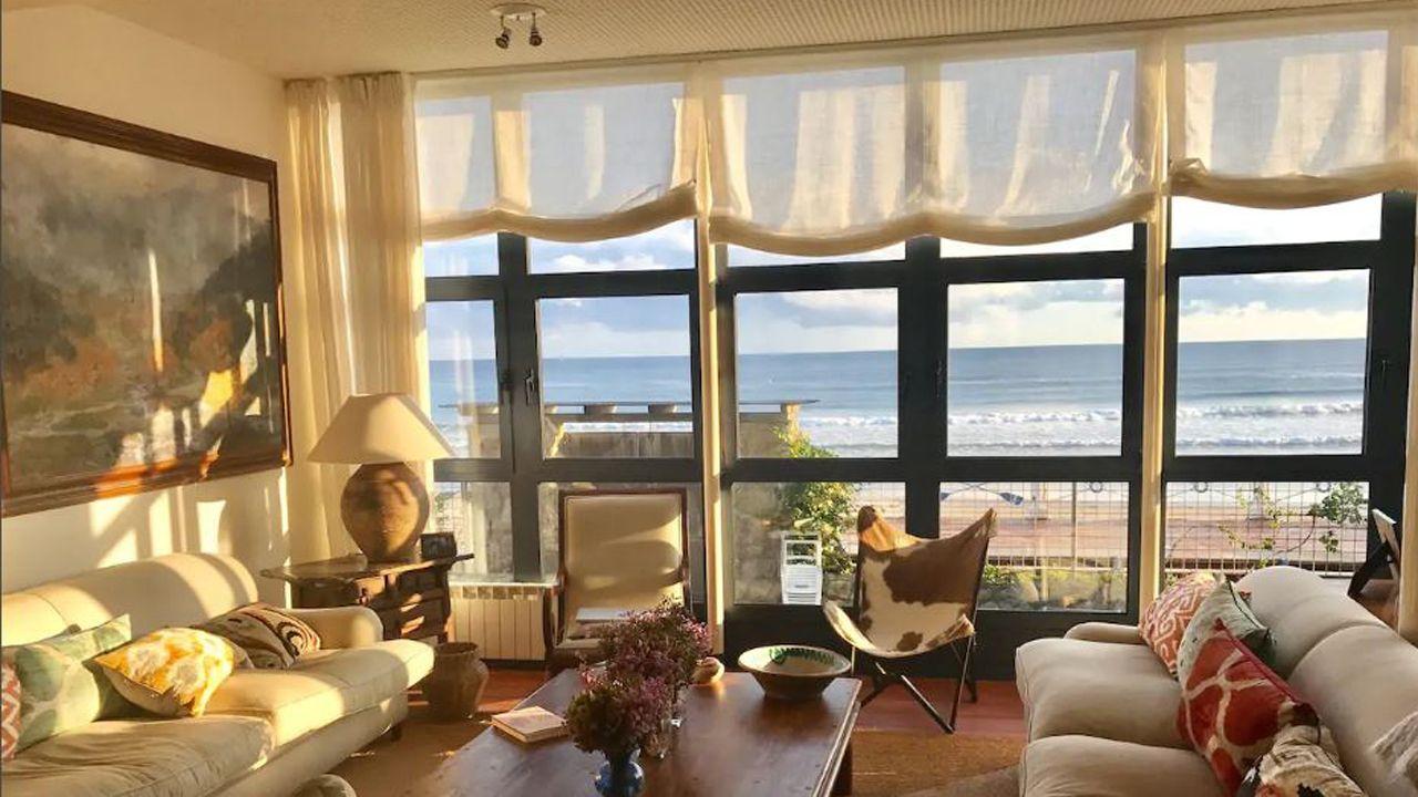 Casa a pie de playa en Ribadesella