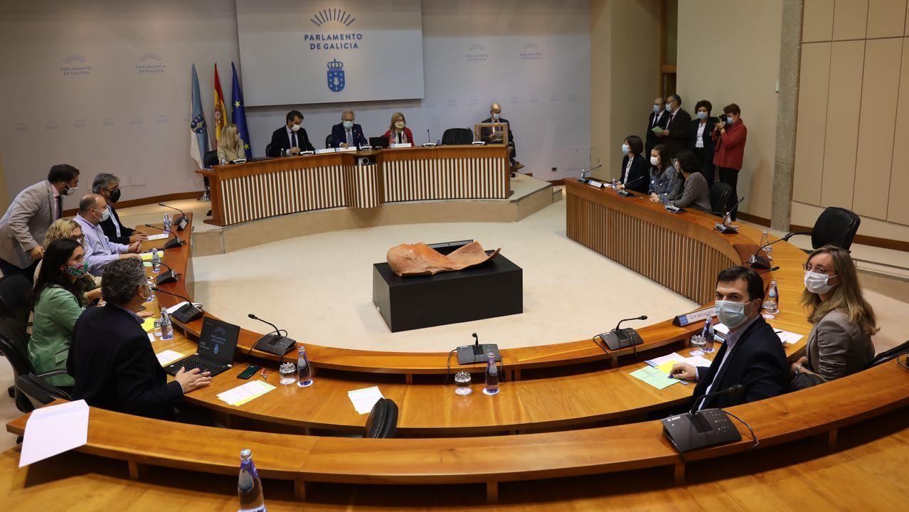 Imagen del hemiciclo en la sesion de apertura de la actual legislatura