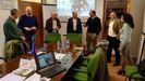 Un encuentro anterior de los grupos de desarrollo rural que participan en el proyecto, celebrado en la localidad vallisoletana de Villalón de Campos en el 2019