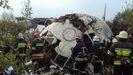 Un avión de Vigo a Estambul se estrella en Ucrania