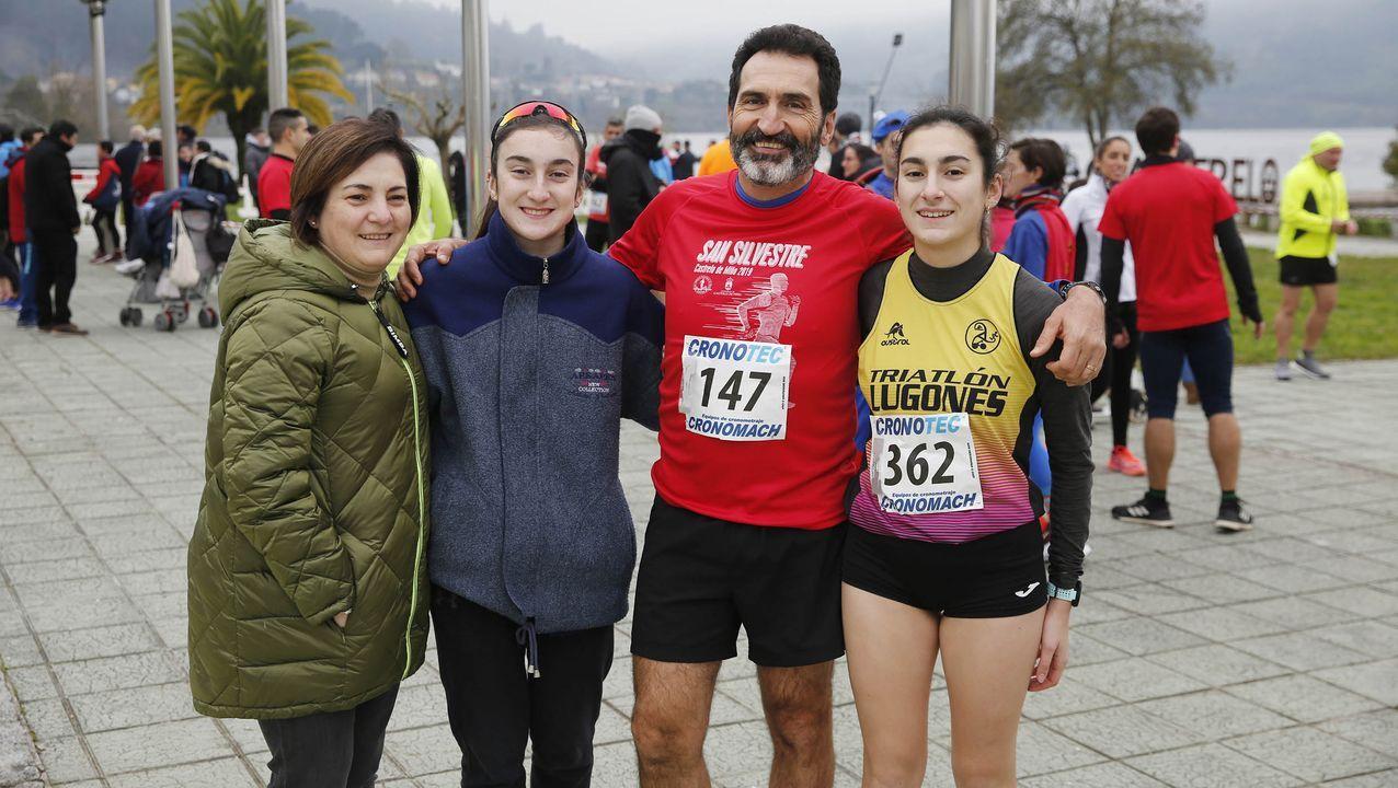 Castrelo de Miño volvió a comenzar el año a la carrera