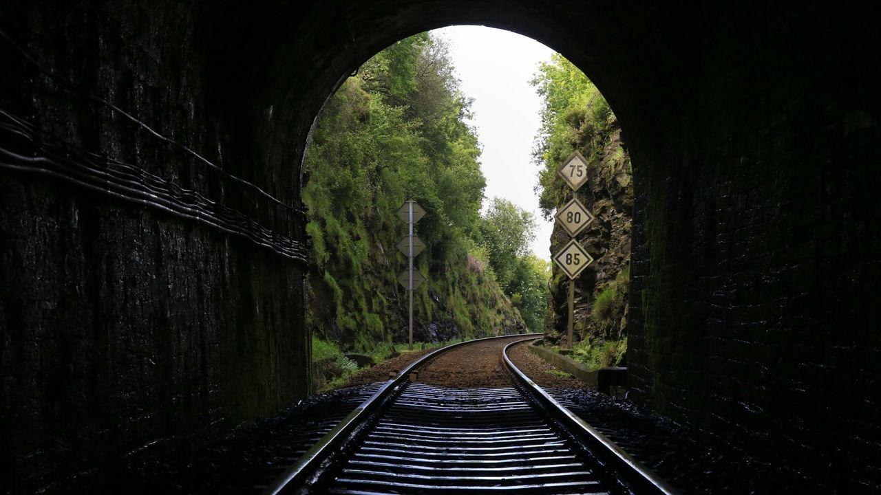 Túnel de Oural, una de las necesarias reformas que tendrá que hacerse en la vía a Ourense