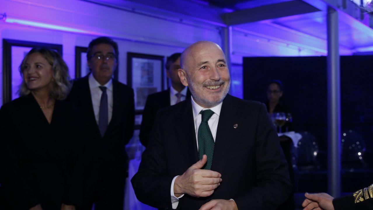 Javier Losada, delegado del Gobierno en Galicia también acudió a la entrega del premio