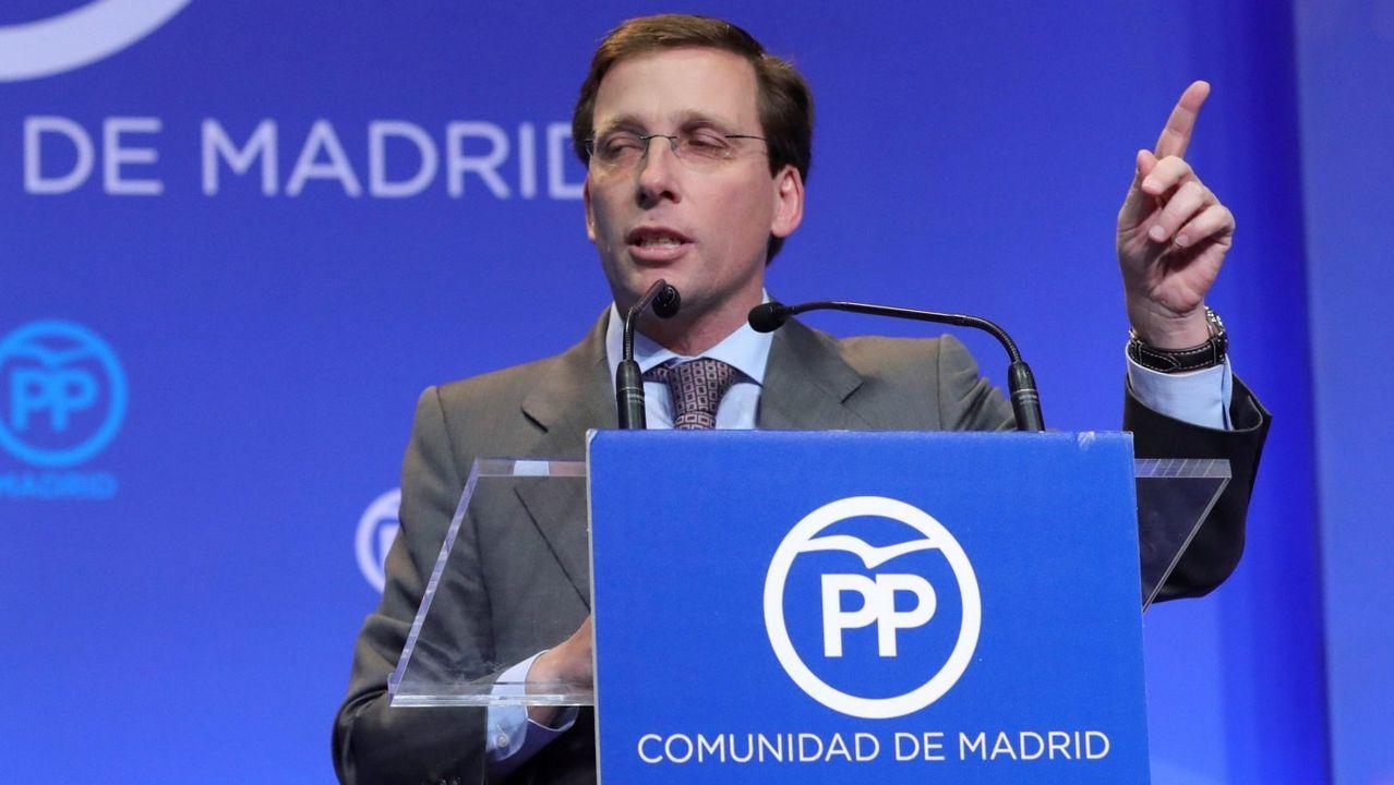 J. L. Martínez- Almeida. Madrid. Abogado del Estado de 44 años. Leal a Casado y un buen discurso, aunque quizá cojee algo con la imagen.