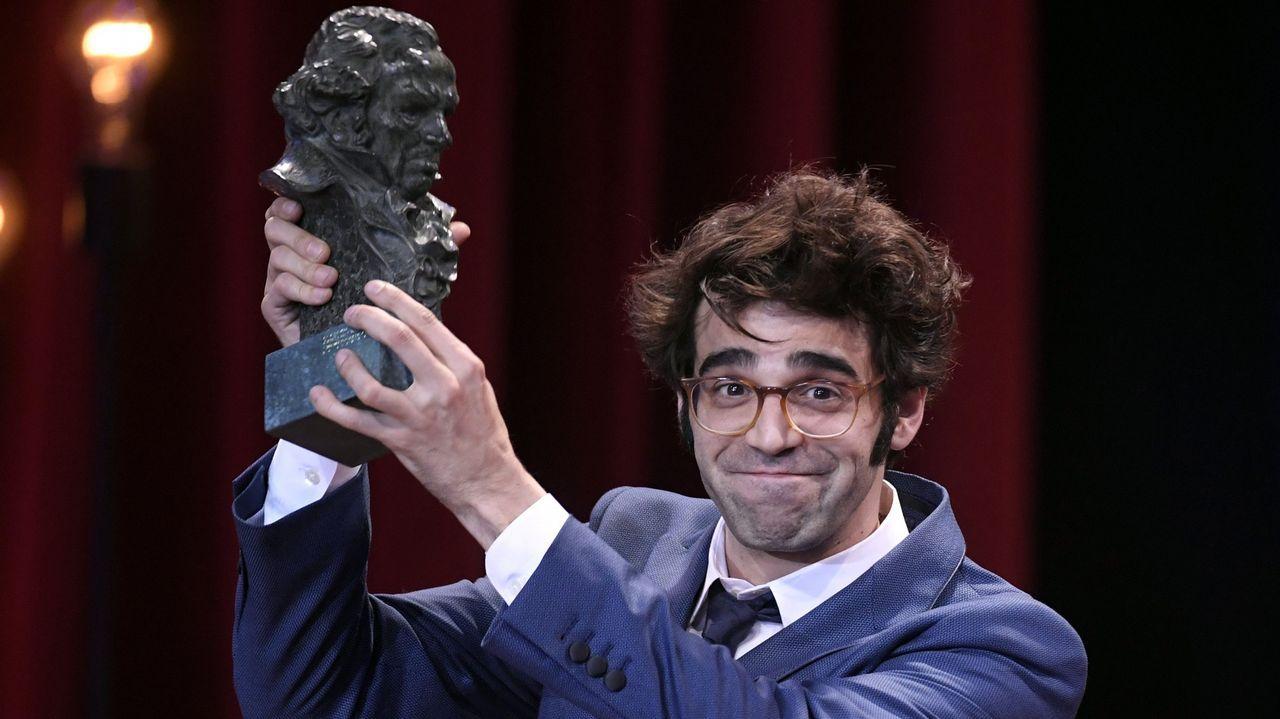 El actor David Verdaguer recibe el premio a Mejor Actor de Reparto por su trabajo en «Verano 1993»