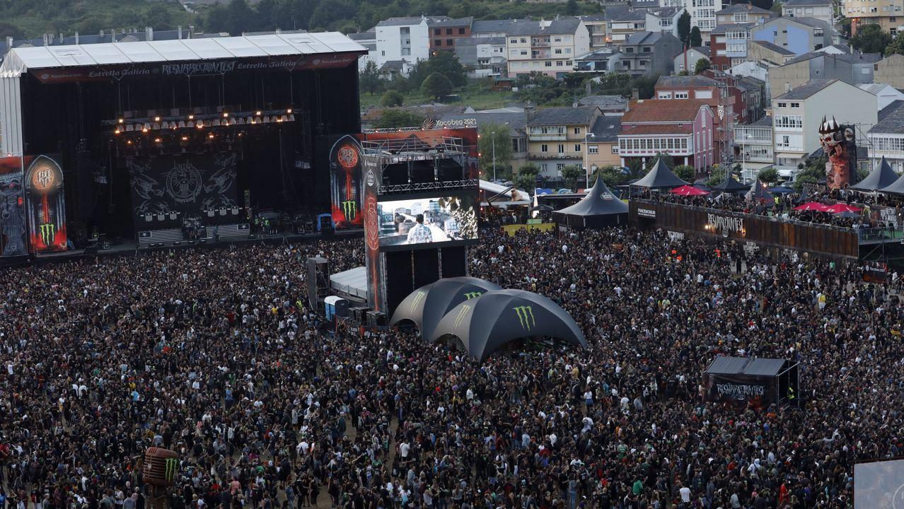 Un momento del Resu del año pasado, que la organización preveía superar este año con 120.000 espectadores en 4 días