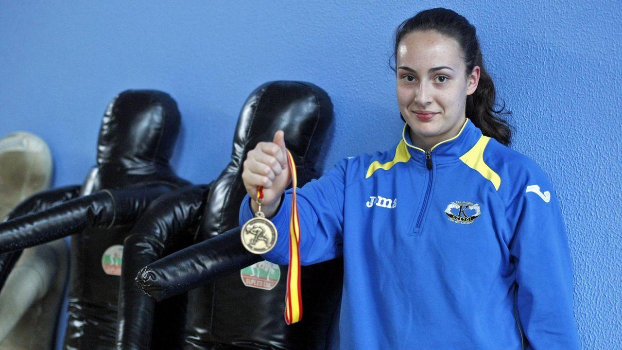 Noelia Lalín. Al igual que Lydia, se la jugará en el Mundial de lucha clasificatorio para los Juegos Olímpicos de Tokio.