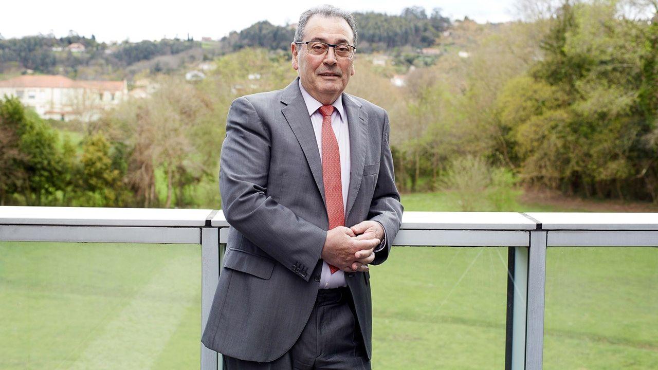 La trayectoria de Sopas en imágenes.Sabino García Vallina, Presidente del Grupo TSK