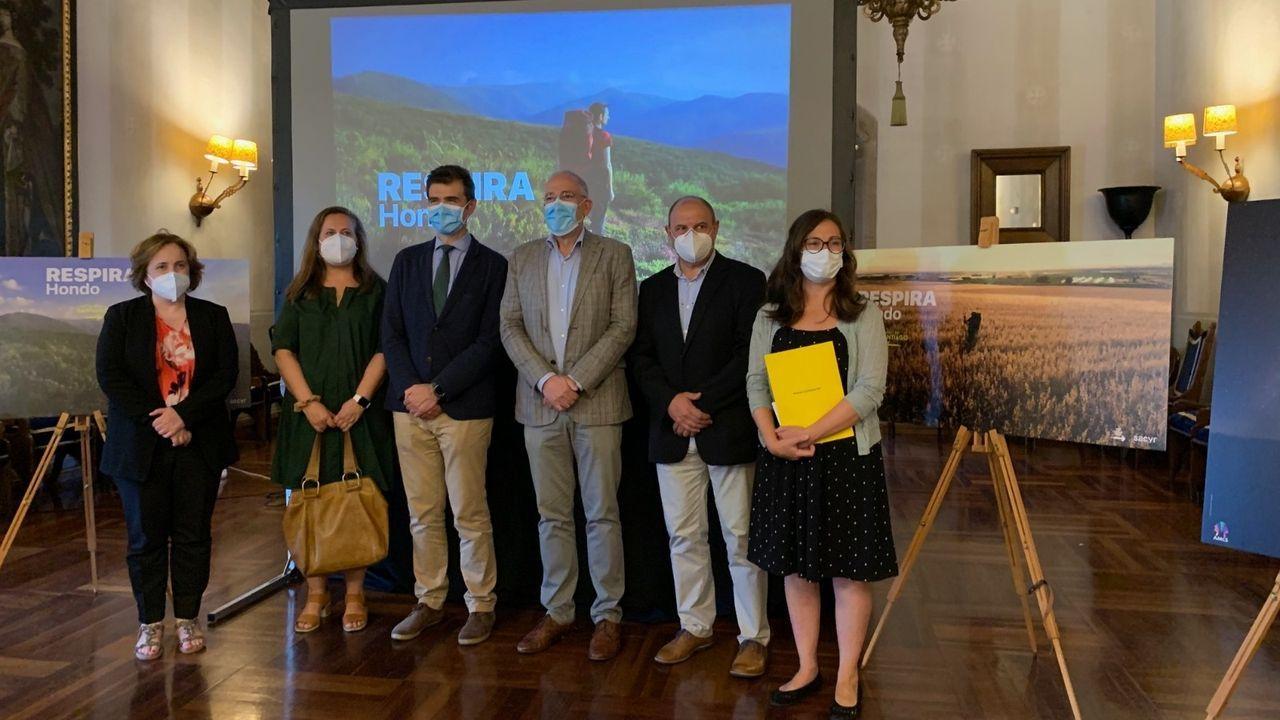 Presentación de la campaña «Respira Hondo» en el Parador Reyes Catolicos