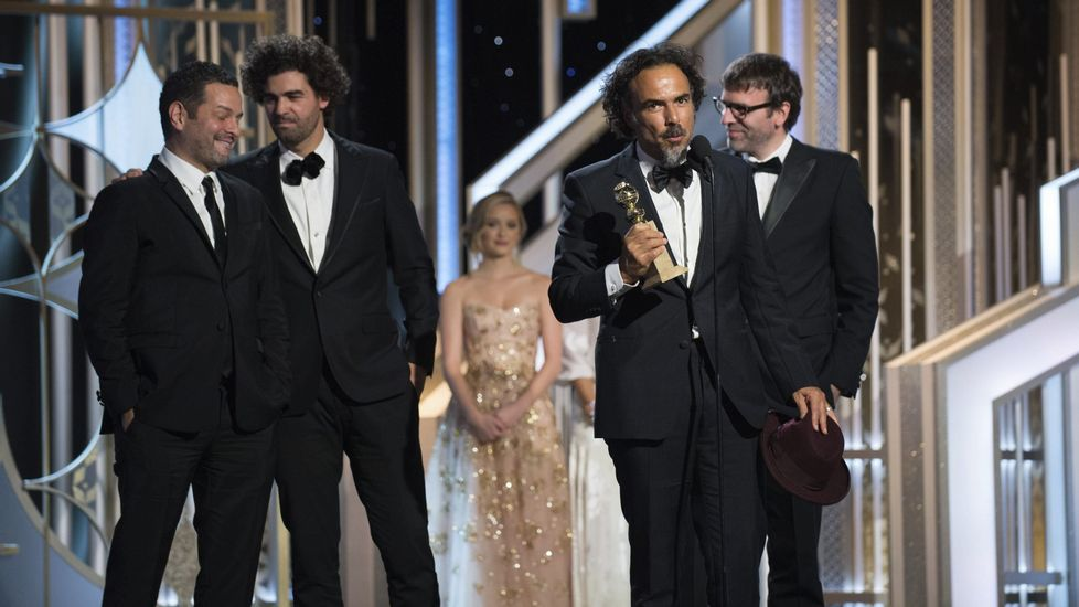 El tributo de Pixar al mundo del cine.Iñárritu ya recogió el pasado el año la estatuilla al mejor guion por «Birdman».
